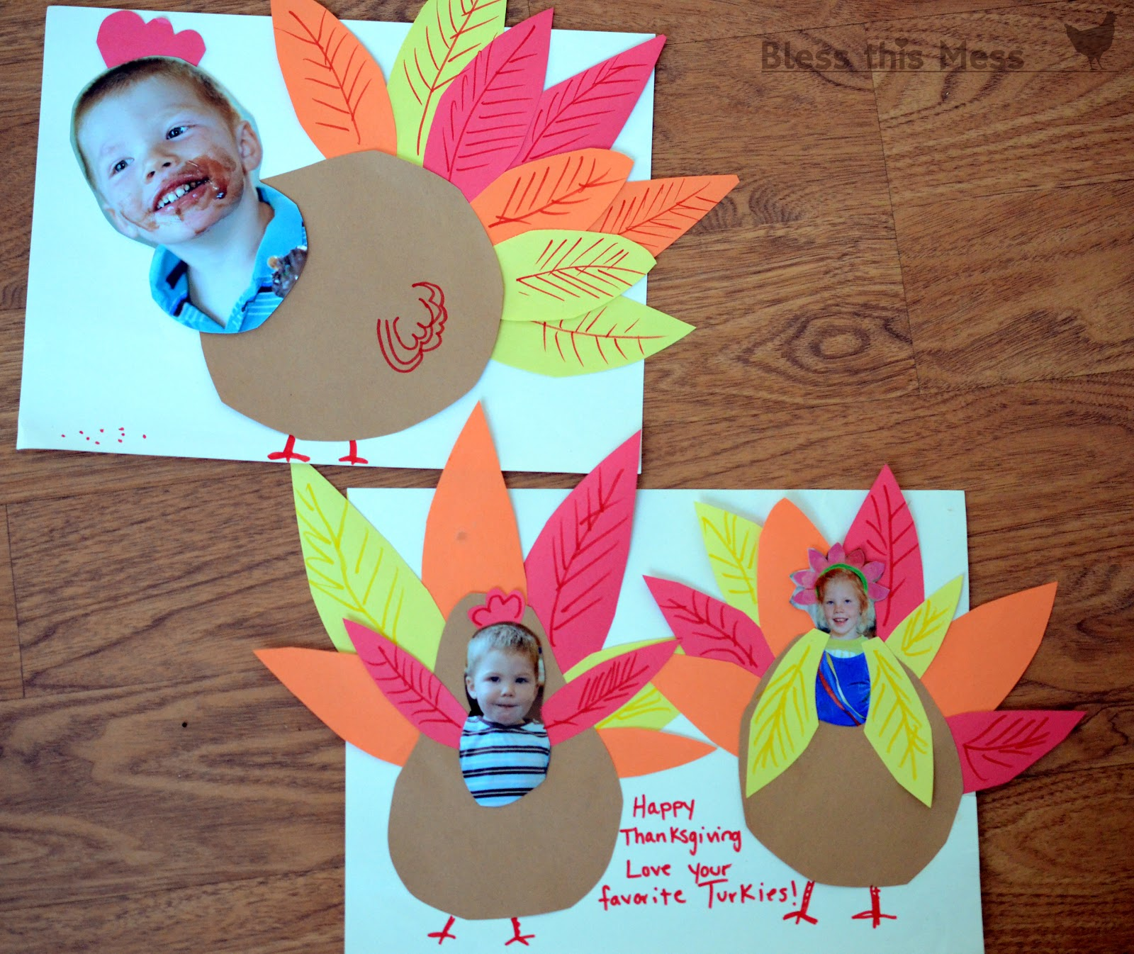 Easy kid crafts crafts for kids kids crafts ideas for Thankful crafts for kids